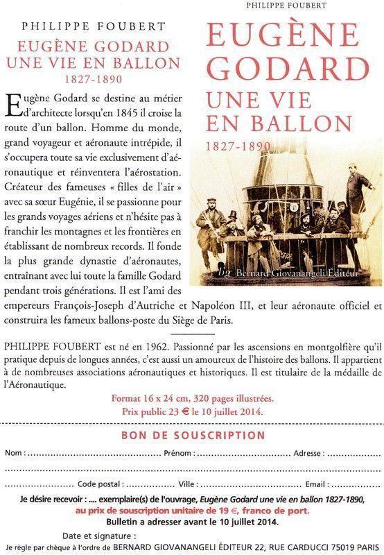 EUGENE GODARD UNE VIE EN BALLON
